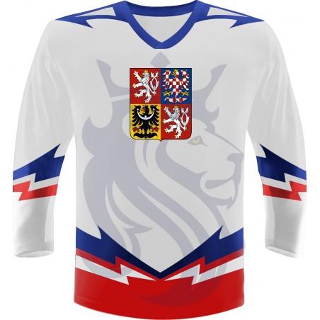 Hokejový dres ČR Repre biely