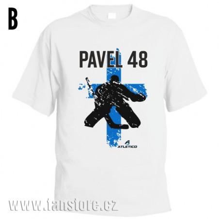 Športové tričko Fínsko s hokejovým motívom brankár