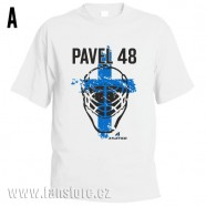 Sportovní tričko Finsko s hokejovým motivem maska