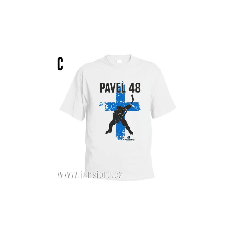 Športové tričko Fínsko s hokejovým motívom hráč