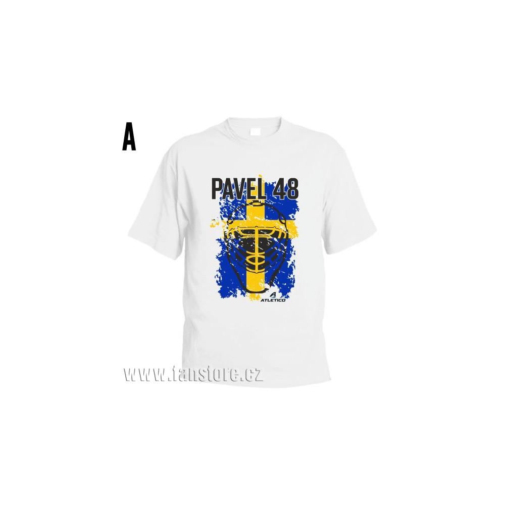 Športové tričko Švédsko s hokejovým motívom maska