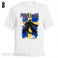 Sportovní tričko Švédsko s hokejovým motivem brankář