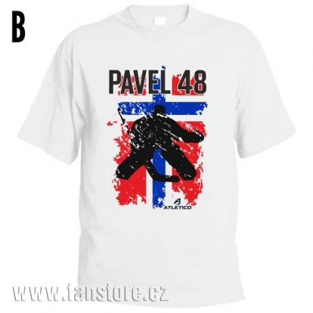 Športové tričko Nórsko s hokejovým motívom brankár