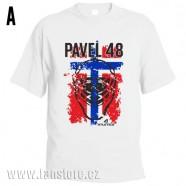 Sportovní tričko Norsko s hokejovým motivem maska
