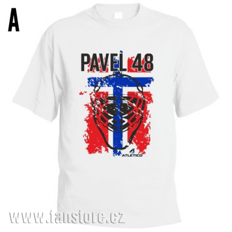 Športové tričko Nórsko s hokejovým motívom maska