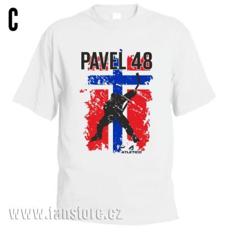 Športové tričko Nórsko s hokejovým motívom hokejista