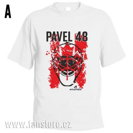 Športové tričko Kanada s hokejovým motívom maska