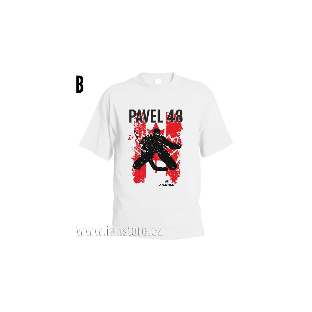 Športové tričko Kanada s hokejovým motívom brankár