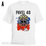 Sportovní tričko Rusko s hokejovým motivem