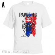 Sportovní tričko Slovensko s hokejovým motivem