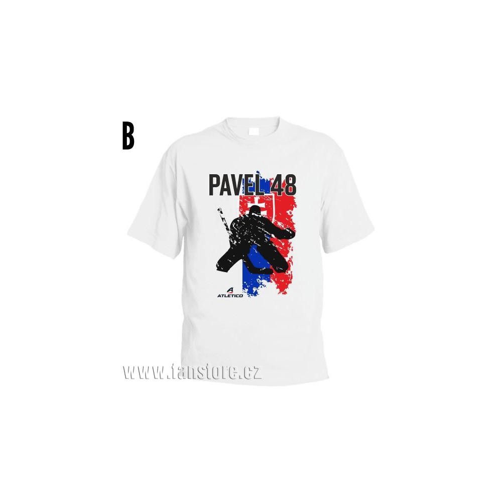 Športové tričko Slovensko s hokejovým motívom brankár