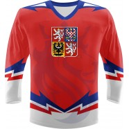 Hokejový dres ČR Repre červený