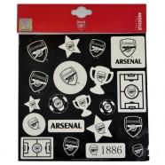 Sada svietiacich samolepiek Arsenal FC
