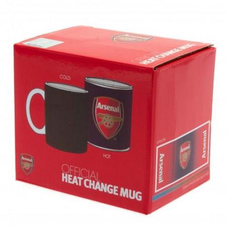 Hrnček Arsenal FC Heat Changing v obale
