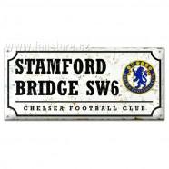 Plechová retro cedule Chelsea FC