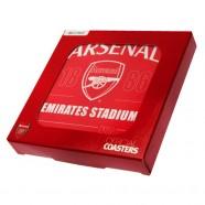 Sada podtáciek Arsenal FC 4 ks