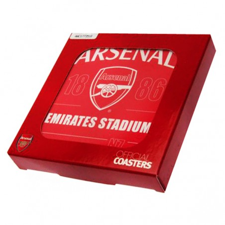 Sada podtáciek Arsenal FC 4 ks