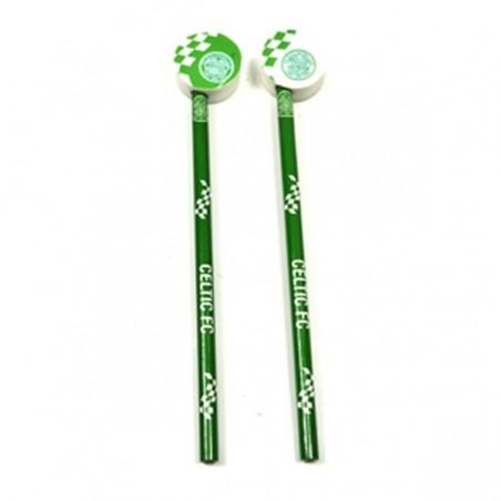 Ceruzka s gumou Celtic Glasgow, 2 ks