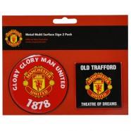 Cedulky Manchester United, 2 ks