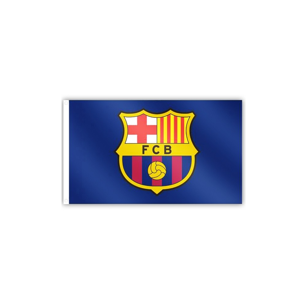 Vlajka FC Barcelona Core Crest