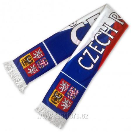 Šál ČR vlajka, letní