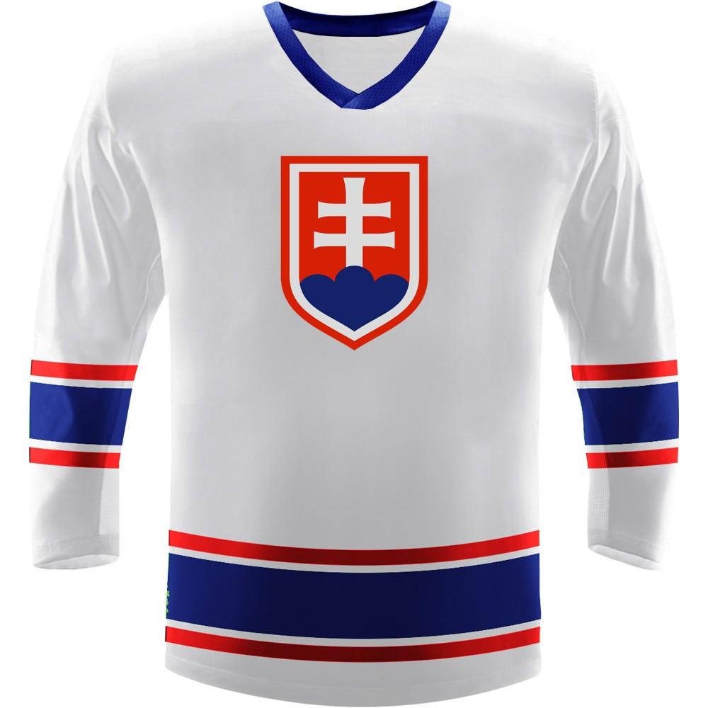 Hokejový dres Slovensko Repre bílý