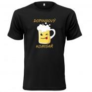 Tričko Dopingový komisař žluté