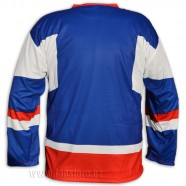 Hokejový dres Slovensko - modrý, záda