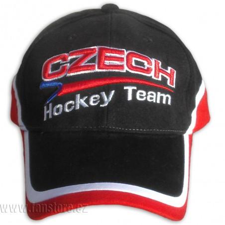Šiltovka hokejová čierna záď