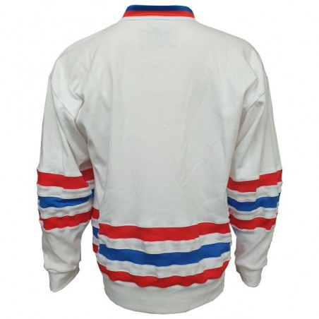 Dobový dres ČSSR  bílý záda