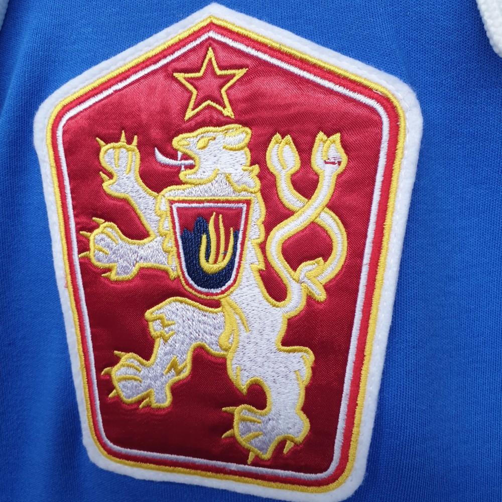 Dobový dres ČSSR  modrý znak