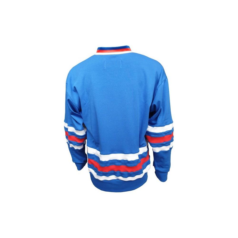 Dobový dres ČSSR  modrý záda