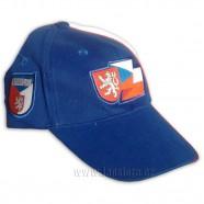 Kšiltovka Česko modrá bok