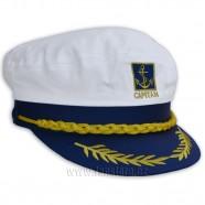 Kapitánská čepice s kotvičkou