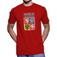 Tričko Made in Czech červené