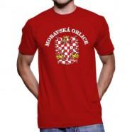 Tričko Moravská orlice červené