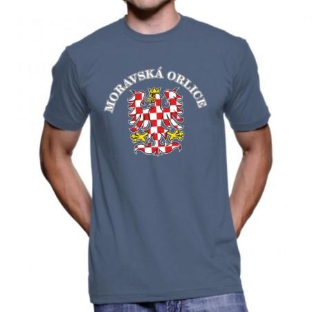 Tričko Moravská orlice denim