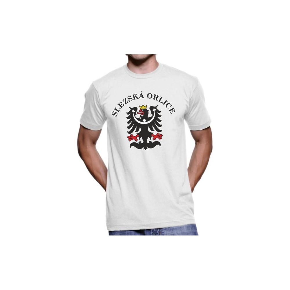 Tričko Slezská orlice bílá