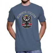 Tričko Slezská orlica denim
