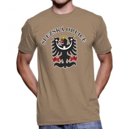 Tričko Slezská orlica pieskové