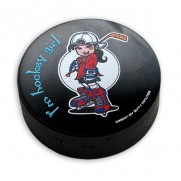 Hokejový puk Fanúšička