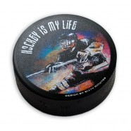 Hokejový puk Hráč