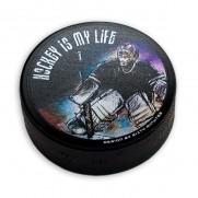 Hokejový puk Brankář