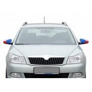 Návleky na zrcátka Česká vlajka pohled na auto