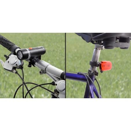 Cyklosvetlo Compass 1 + 1 foto