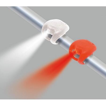 Univerzálne silikónové svietidlo 2 ks na ráme