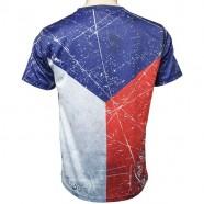 Tričko Vlajka pánské záda