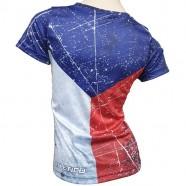 Tričko Vlajka dámské záda