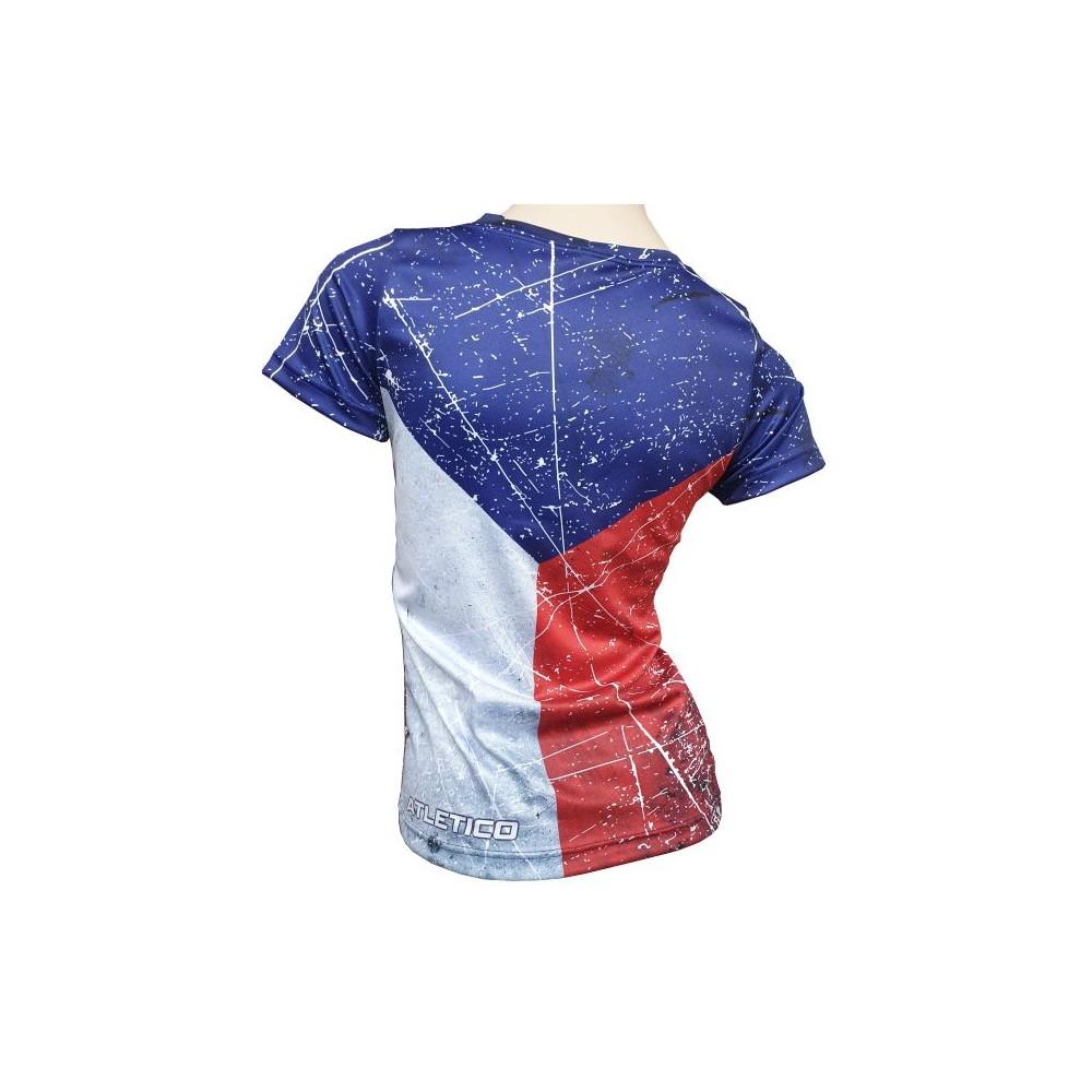 Tričko Vlajka dámske záda
