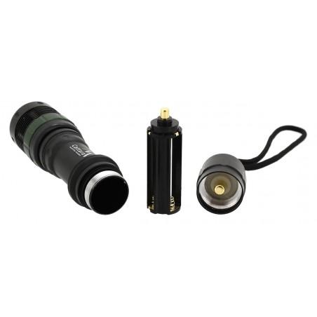 Vreckové svietidlo Cattara LED rozložené
